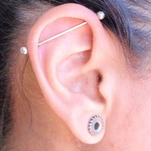 Industrial Ear piercing jewelry